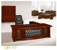 office furniture made in china Executive in stock office furniture with paper veneer finished