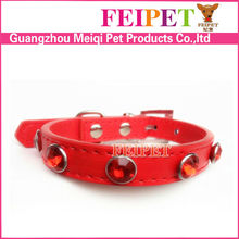 2015 latest trendy jeweled dog collars for small dogs