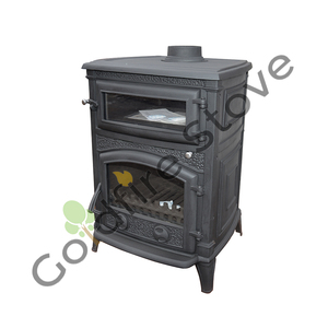 Cast Iron Multi Fuel Stove with Cook Oven