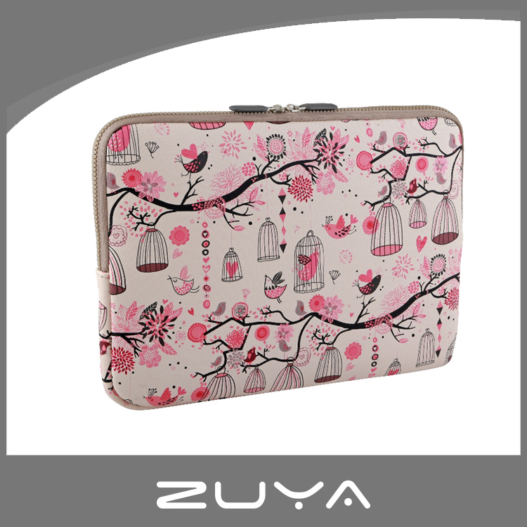 Fashion leather bag cool printing 11 11.5 13 15 16 17 19 20 inch leather laptop bag laptop sleeve bag