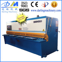 CE ISO9001 stainless metal steel sheet plate cnc hydraulic cutting shearing machine QC12Y guillotine shear blades