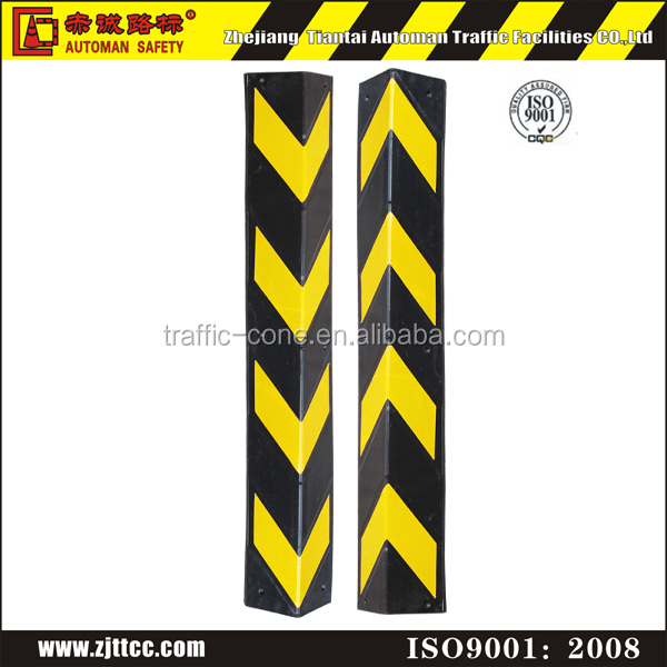 rubber material warning protective corner guard