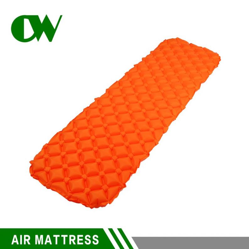 buy from china free shipping outdoor camping inflatable self inflating ultralight sleeping beach small air mattress