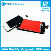 Touch Screen GSM parts OEM for iPhone 4S lcd Digitizer Glass Assembly original Replacement LCD Black