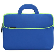 Neoprene laptop bag/sleeve/case with handles