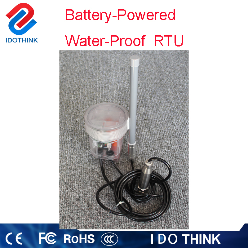 Good price of sms sending device Battery-powered water proof RTU