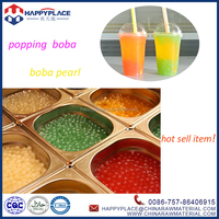 best selling strawberry boba, juice ball popping boba, bubble tea supplies wholesale