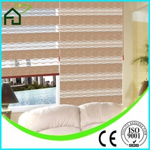 Window Zebra Blinds Modern Style Printed Curtain/alibaba stock 100% polyester zebra blind manual dual zebra roller shade