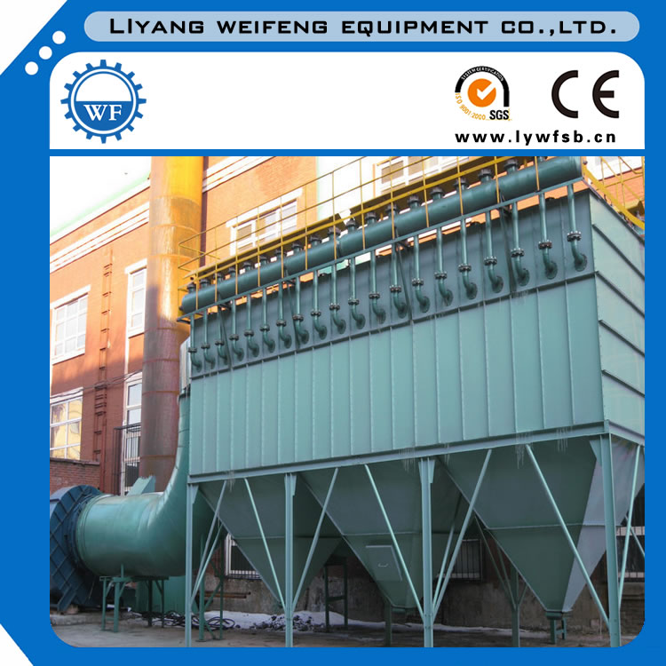 Electric furnace dust collector used in steel industry