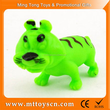 Bulk plastic realistic zoo animals plastic toy tiger toys