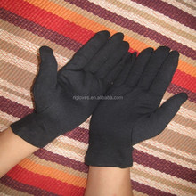 Mens white cotton gloves Black cotton Ceremony parade