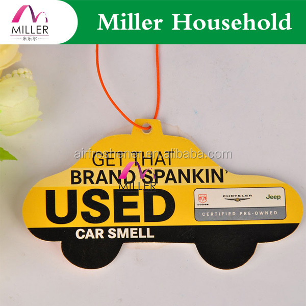 car freshener/car paper air freshener/ hanging paper air freshener for car