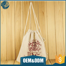 Promotion soft organic fabric cotton shopping bag
