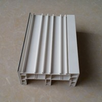 3 Track 112 mm Wide PVC Sliding Windows Profile White or Color coextrusion UPVC Profiles