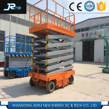 China Full Auto Battery Scissor Lift
