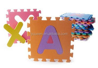 "High Quality Educational Alphabet Foam Puzzle Floor Mat for Kids - Covers 26 sq ft (12"" x 12"" square blocks)"