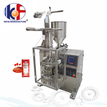 Thick Liquid and Viscous Liquid Packing Machine|Vertical Tomato Paste Packaging Machine