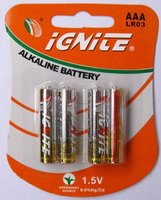 aaa alkaline battery for toy car