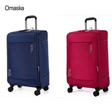 4 wheels polyester travel bags trolley suitcase luggage set from baigou