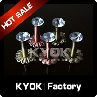 KYOK Hotel project decoration Curtain rod accessories , metal decorative jewelry hooks,adjustable curtain hook