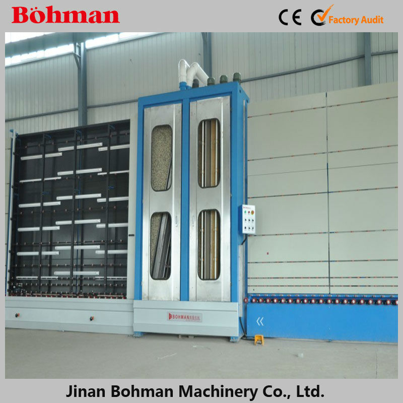 Building Glass Cleaning Machine/ Vertical Flat Glass Cleaning Machine
