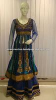 Salwar kameez lehenga style long sleeves