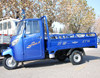 Hot 200cc 4 stroker Van cargo tricycle with cabin water-cooled