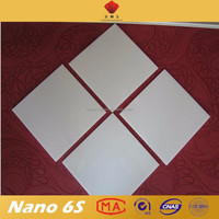 Easy cleaning super white micro nano flooring stone tile