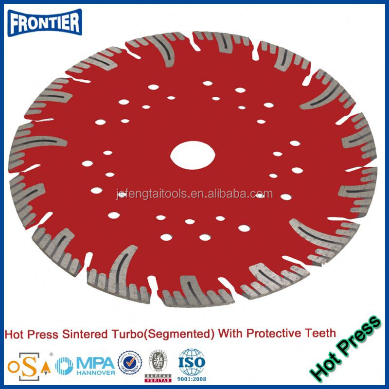 Hot Press Machine Sintering Diamond Segment for Saw Blade