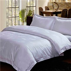4 pcs quantity and adult age group hotel bedding set