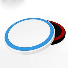 Mini Round qi Wireless Charger Pad for universal mobile Phone