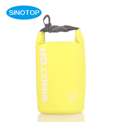 2L small pink outdoor waterproof mini strap floating camping hiking bucket water proof dry bag