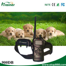 1000m remote rechargebale waterproof 900DB i-click pet training clicker