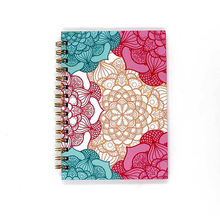 FSC Factory Audit wire bound School Children Color Perforated Paper Cover Bound Spiral Notebook