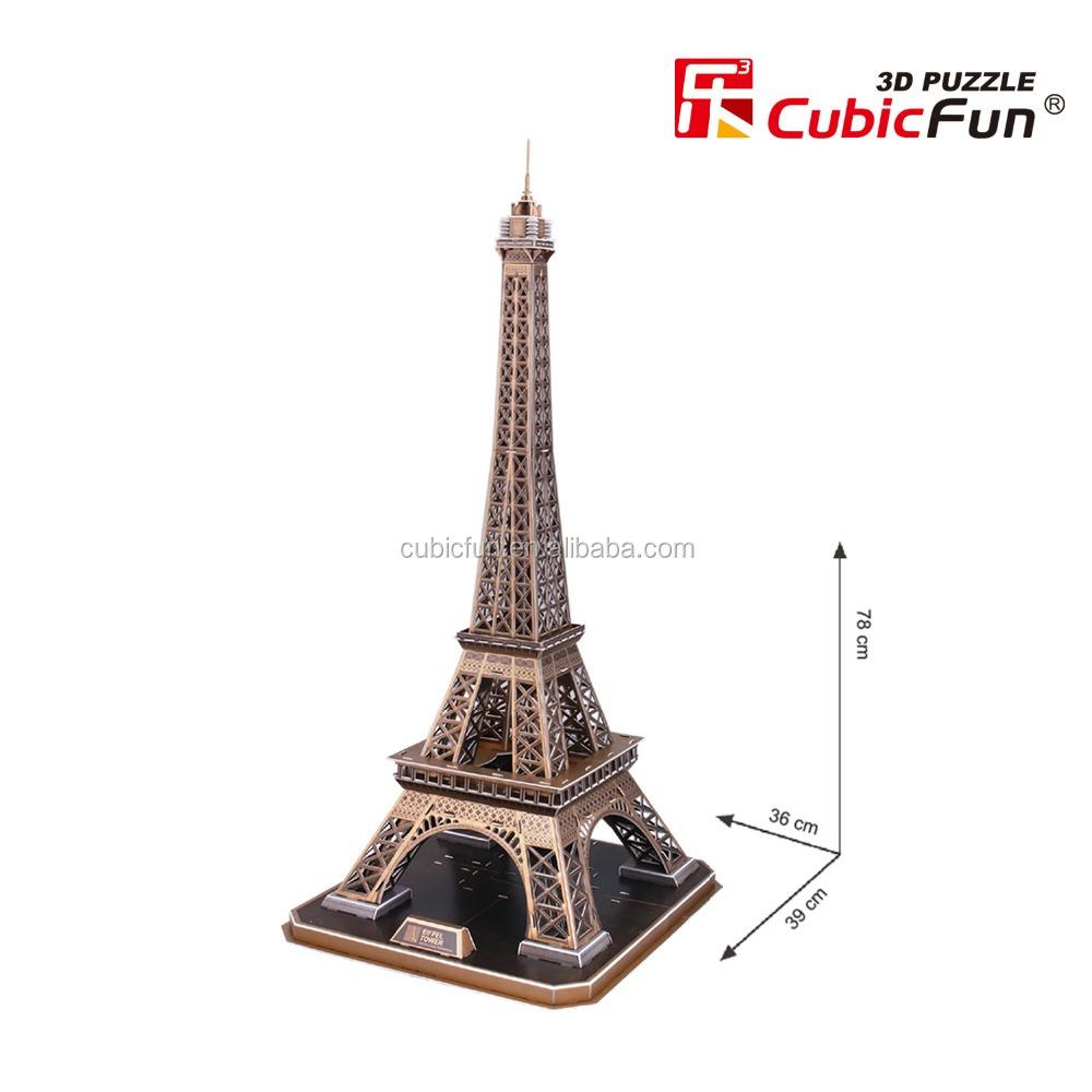 C l bre architecture mondiale 3d papier puzzle mod le avec for Architecture celebre