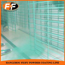 Electrostatic Powder Spraying Coating Equipment for Mesh Wires