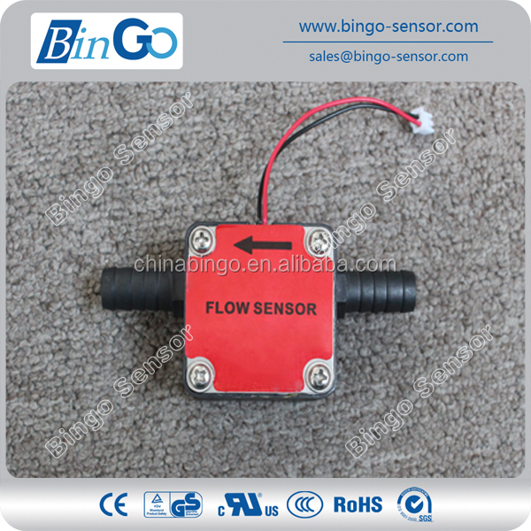 Diesel fuel flow sensor, oval gear flow sensor for oil, fuel, lubricant and diesel