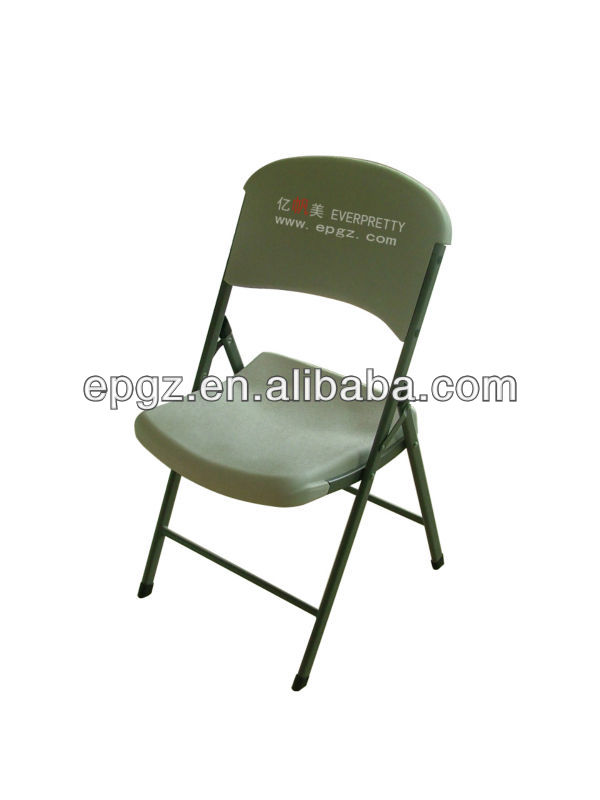 guangzhou manufacture injection mold plastic folding chair/ chair folding plastic furnitures