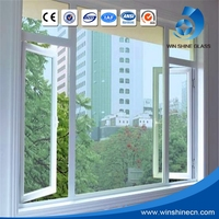 Good Damage Resistance Window And Furniture Use Top Quality Tempered Laminated Large Glass Windows Price M2