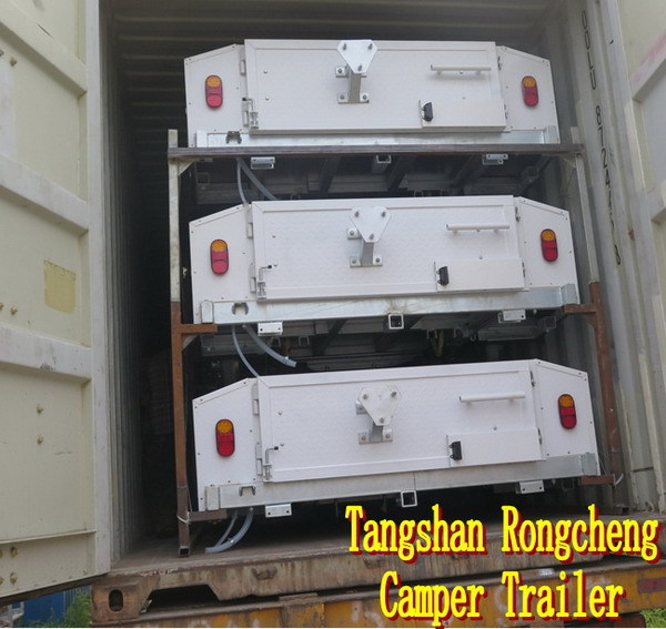 Custom-made camper trailer RC-CPT-08XP