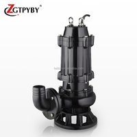 200WQ220-12-15 vertical underwater sewage pump mud pumps centrifugal cast iron submersible sewage pumps