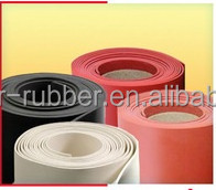 Excellent elasticity natural rubber sheeting/matting rolls from China
