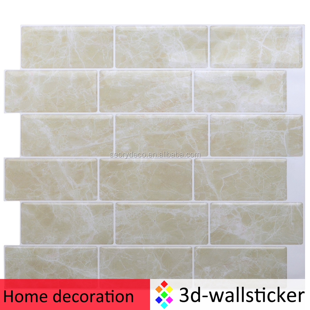 High quality light weight 3d effective home stone pieces decoration
