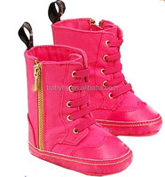 Shenzhen Supplier Pink Nice Fashion Breathable Baby Boots