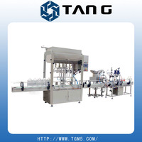 Food Industry Edible Oil Linear Bottling Line