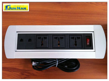 New Designed Multimedia Desktop mk Socket and Switches for Conference