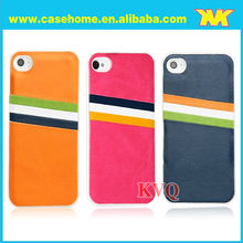 Contrast color! Case for iphone 5 with crazy horse texture