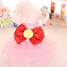 Summer Dog Tutu Dress Sailor Moon Design Doggie Cat Clothes