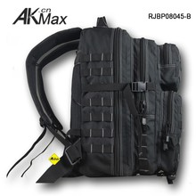 Black Molle System Survival Backpack With Hydration Function