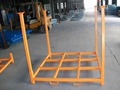 Steel stacking rack